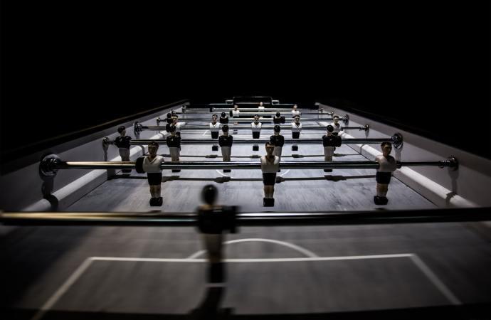 Et bordfodboldbord kan være et godt afbræk fra arbejdslivet