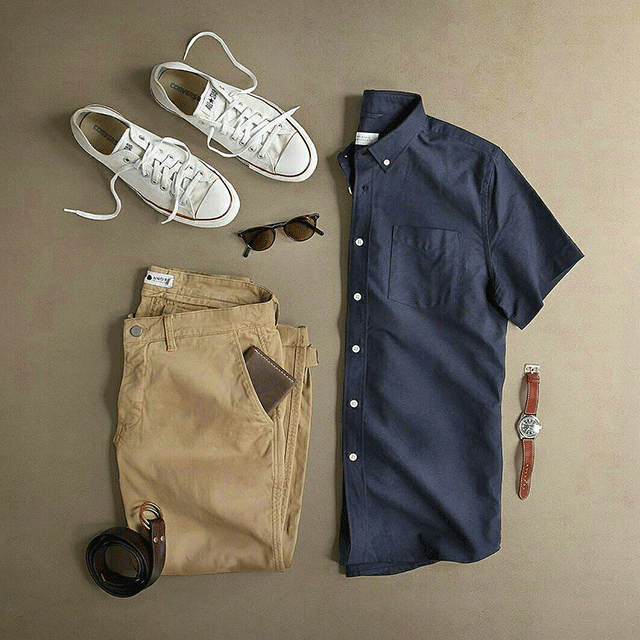 How To Wear Khaki Chinos