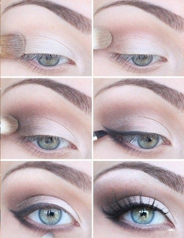 Light Silver Makeup Tutorial