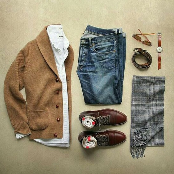 Comfy Winter Fashion Outfits for Men