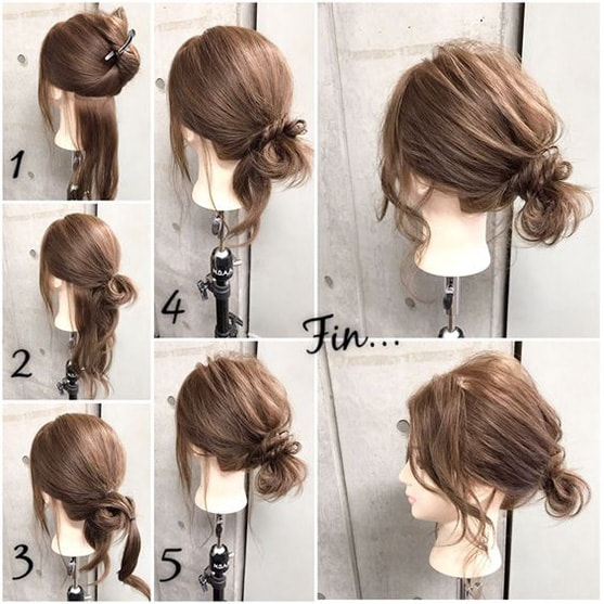 8-10 Updos tutorials on pinterest to Look Stunning