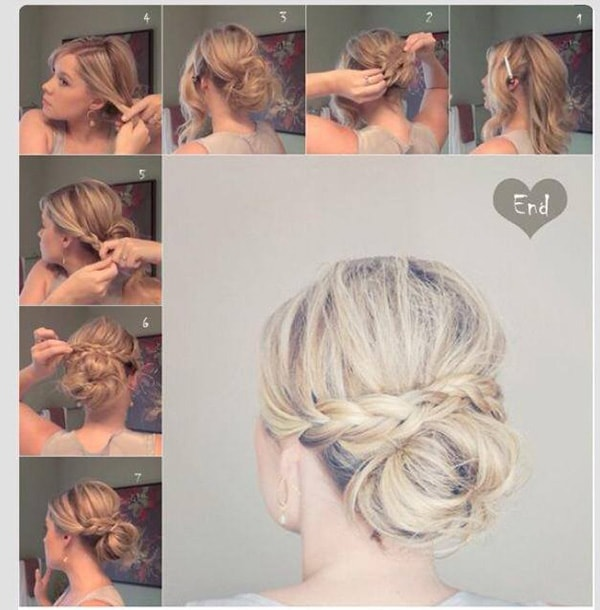 4 Super Easy Hair Tutorials For All Us Lazy Girls
