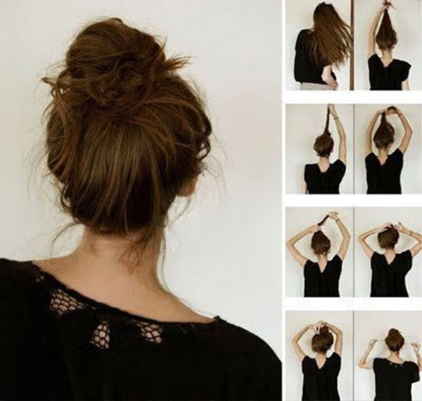 6 Super Easy Hair Tutorials For All Us Lazy Girls