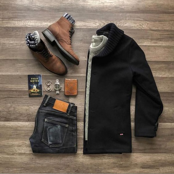 Top Black Outfits combination For Real Men 4