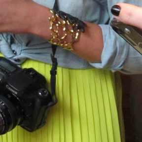 IFBCON TRENDSURVIVOR bracelet pleats