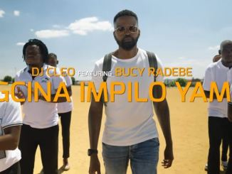 DJ Cleo - Gcina Impilo Yami Ft. Bucy Radebe