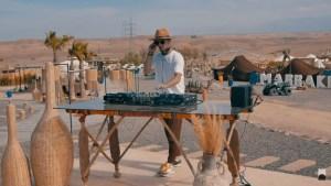 IRENEE S. at Desert Agafay Morocco