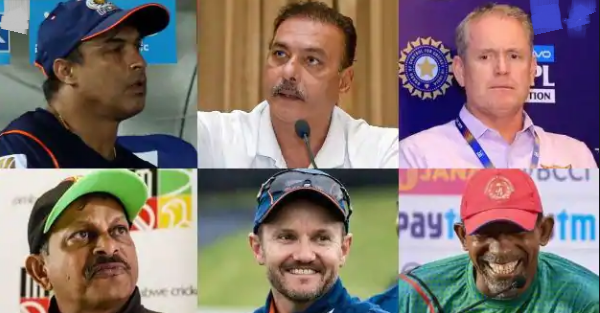 India Head Coach: BCCI shortlists six candidates for India head coach position