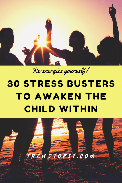 stress buster and anxiety buster activities