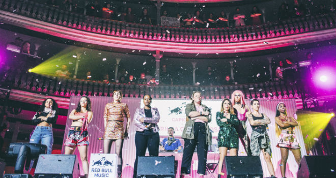 Culture Clash 2018 Guerilha cor de rosa