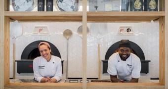 Chef Laura Schneider e Pizzaiolo Sidney