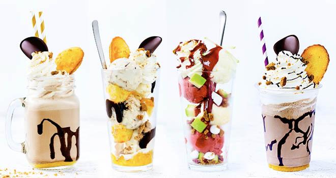 Haagen-Dasz Milkshakes