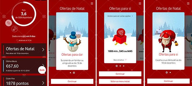 Vodafone Ofertas de Natal App