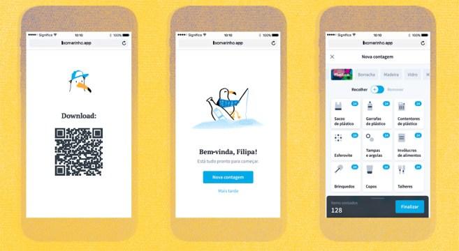 App Lixo Marinho