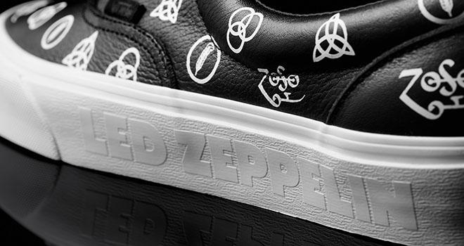 As novas sapatilhas da Vans são em homenagem a Led Zeppelin