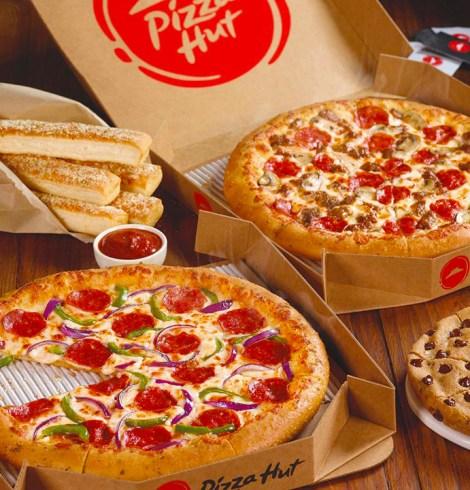 Pizza Hut Uber Eats