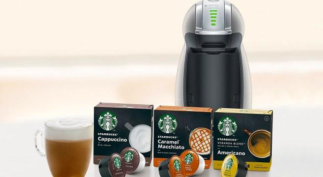 Starbucks Nescafe Dolce Gusto