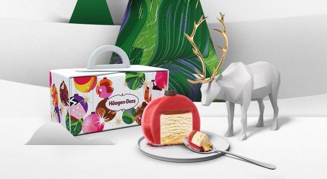 Haagen-Dazs Ice Cream Cakes Natal ©Häagen-Dazs
