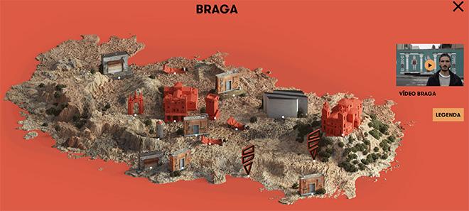 Seat Art Cities - Braga