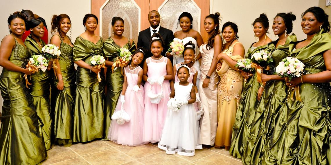 XTRA Clips On The Ini Edo And Philip Ehiagwina Wedding In