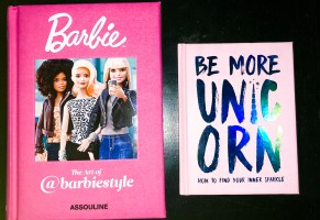 barbie unicorn books