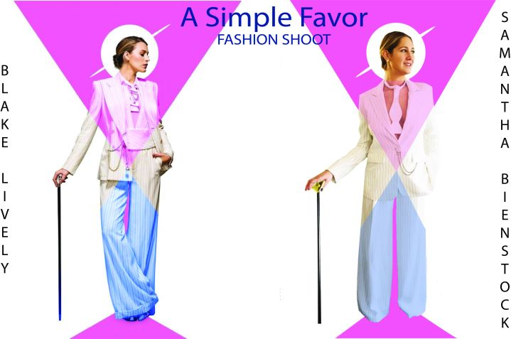 A Simple Favor Inspired Fashion Shoot