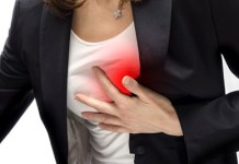 sharp pain under left breast