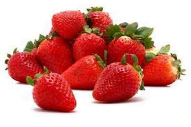 strawberries to get rid of pimples