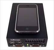 Size Comparison LPC-100 vs. iPhone