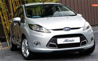 Ford Fiesta White
