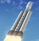 Falcon Heavy Rocket