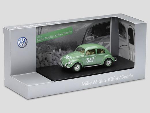 1-Mille Miglia beetles, green, of Straehle, type 11A (1949)