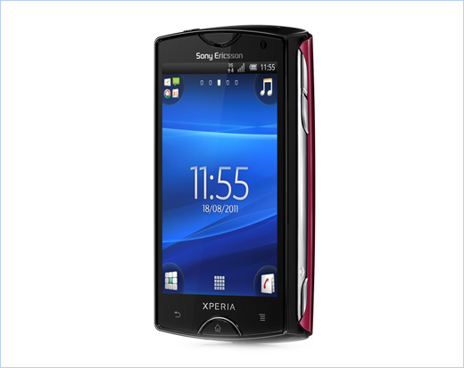 Xperia mini - sony ericsson - smartphone - android