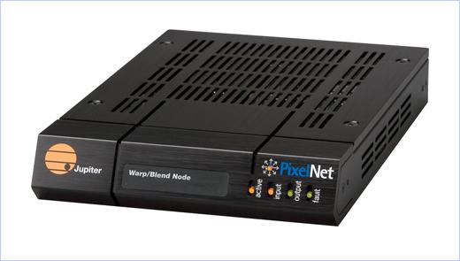 New PixelNet® Warp/Blend Node