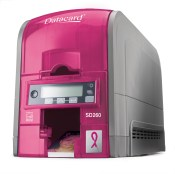 Limited Edition Pink Datacard® SD260™ Card Printer
