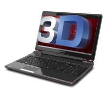 Qosmio F755 3D Glasses-free 3D laptop