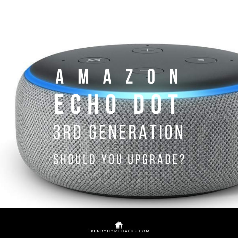 Echo Dot 2018 Smart Home Speaker New Features