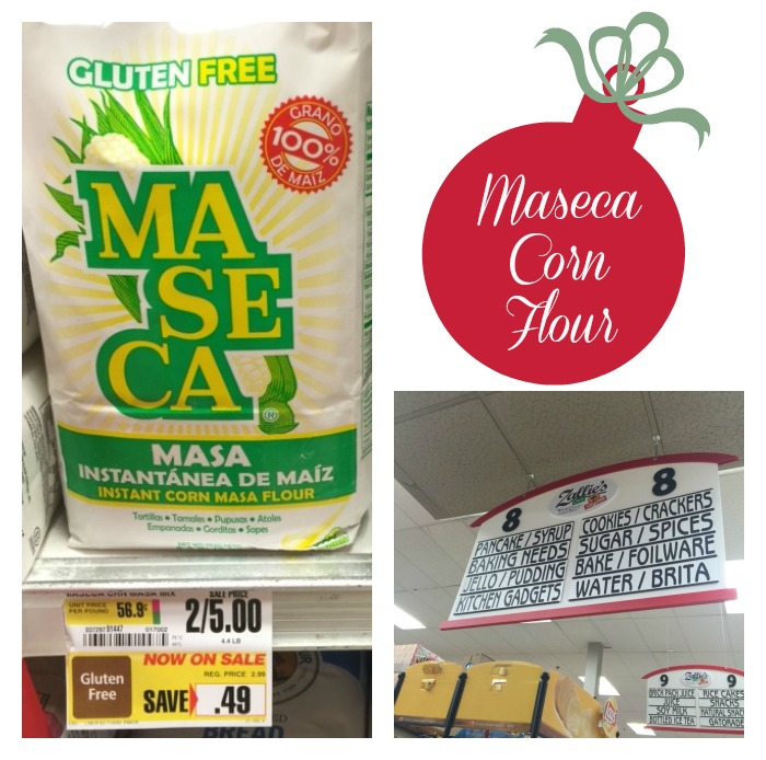 Maseca Corn Flour in Store