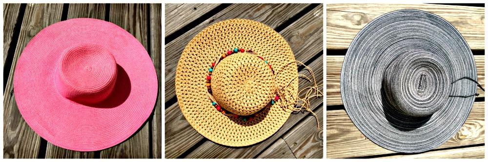 summer beach hats