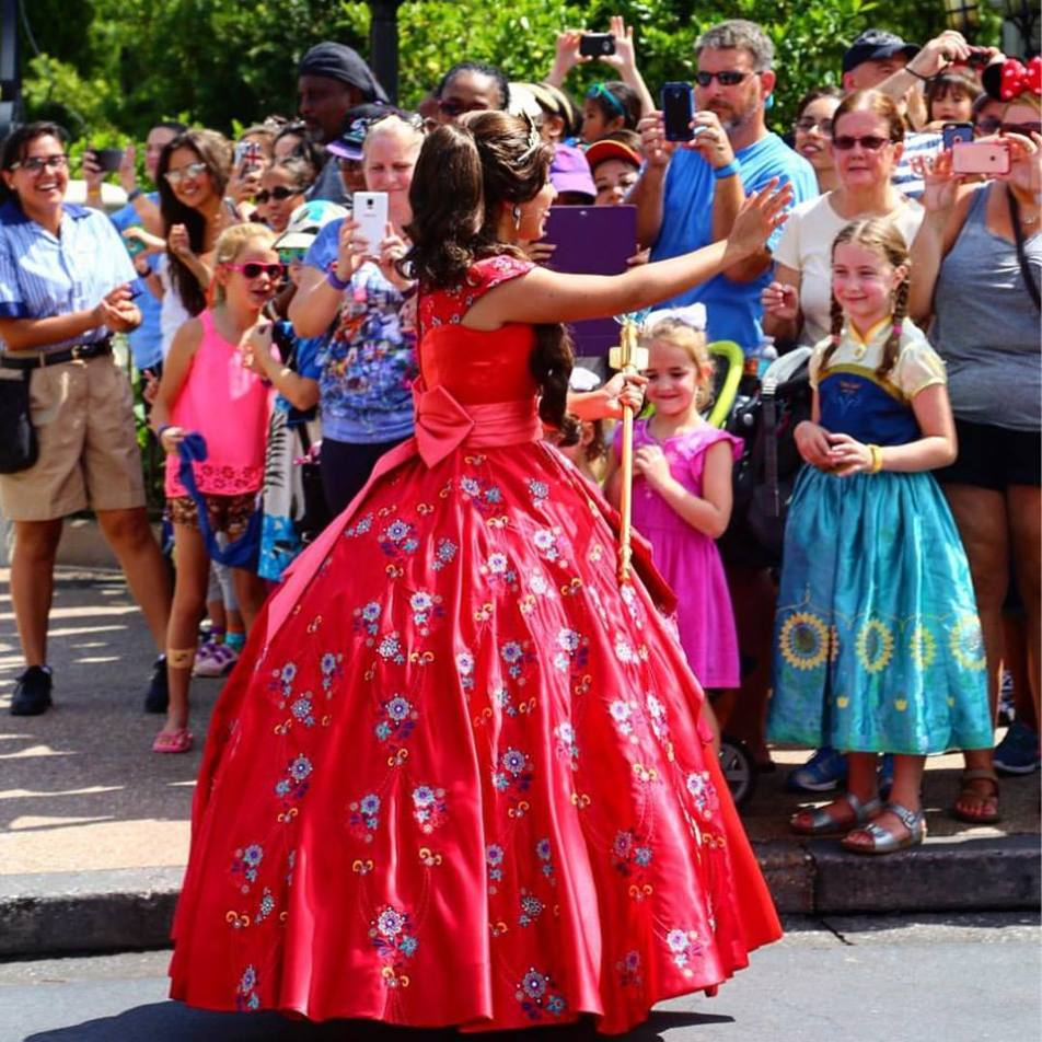 Elena de Avalor's Dress