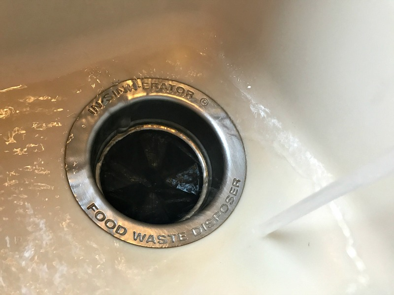 clean garbage disposal