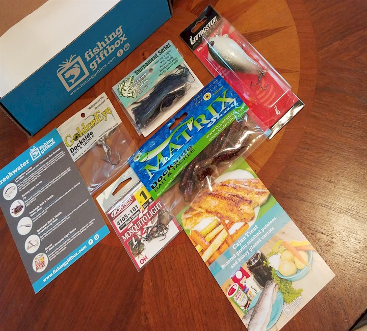 fishing gift box contents