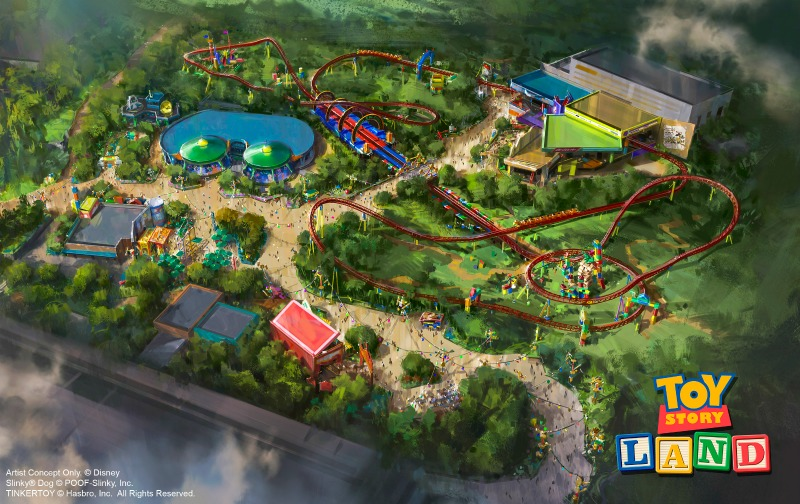Toy Story Land at Hollywood Studios
