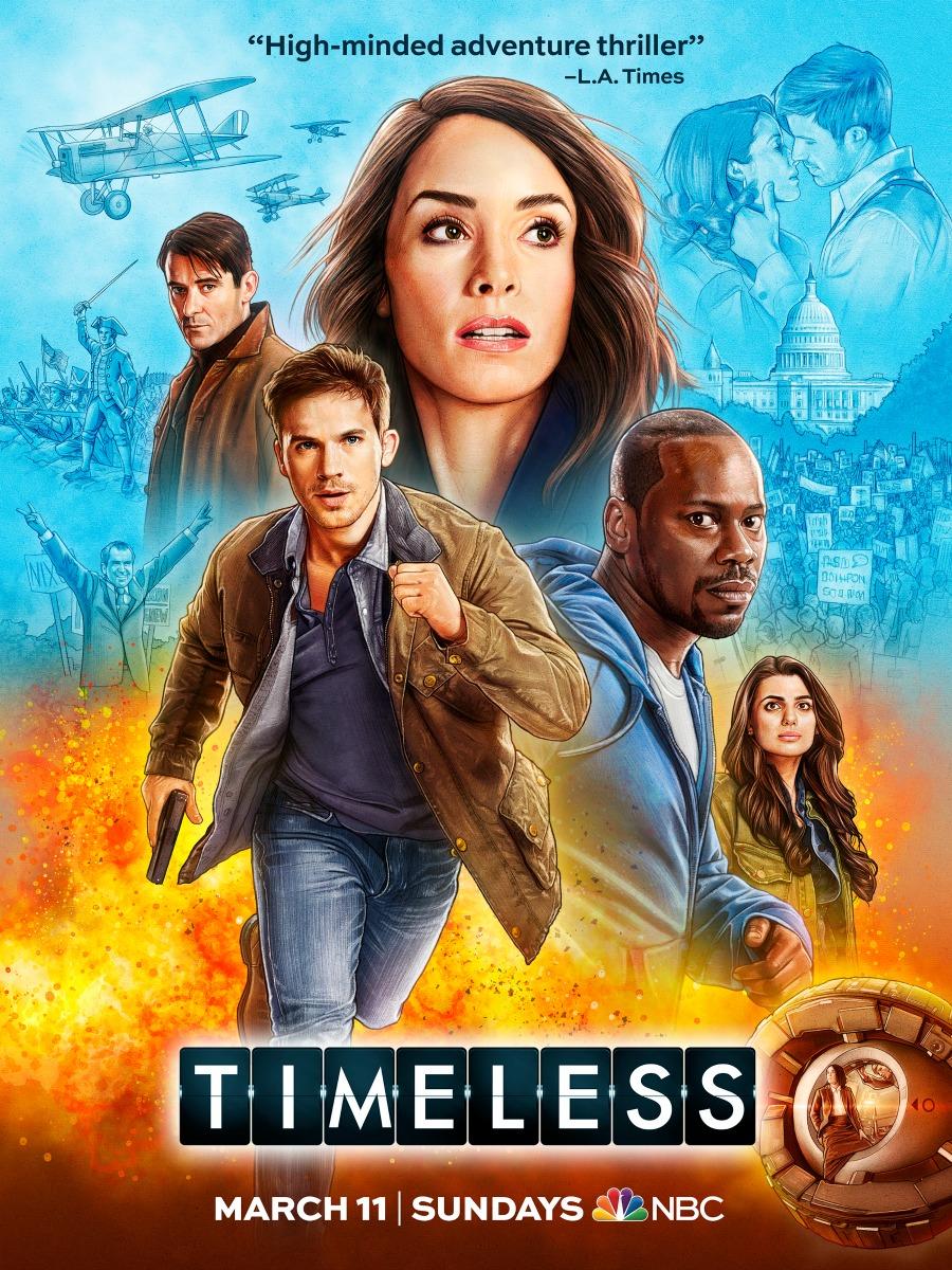 Timeless Season 2 Premiere