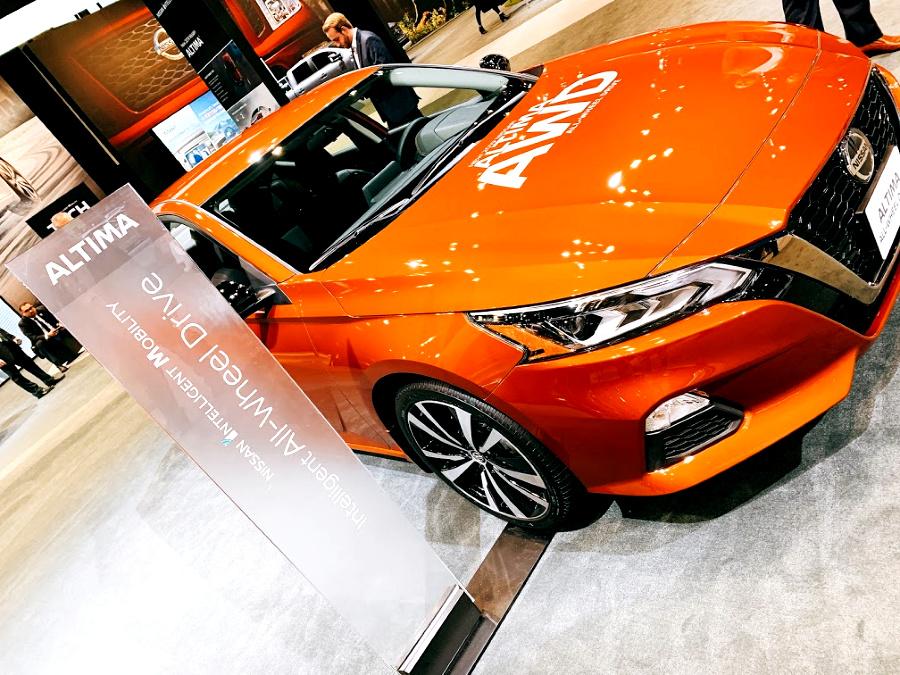 Nissan Altima AWD