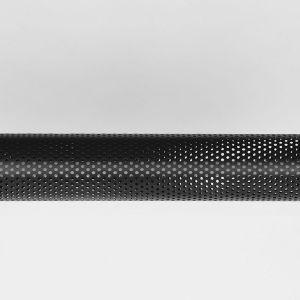 Hanglamp Tube Zwart Metaal 130x13x13 cm Detail 2