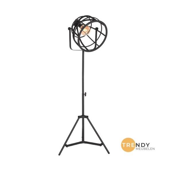 Vloerlamp Fuse Zwart Metaal 55x55x135 170 cm Perspectief Aan