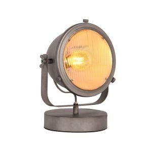 lamp multifunctional burned steel metaal 31x23x33 cm perspectief 2
