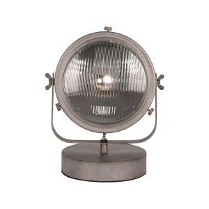 lamp multifunctional burned steel metaal 31x23x33 cm voorkant