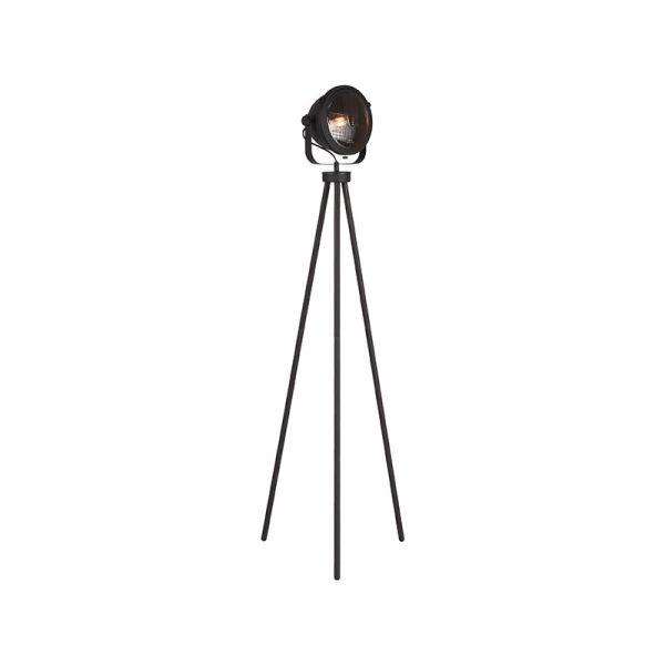 vloerlamp tuk tuk zwart metaal 34x23x150 cm perspectief aan